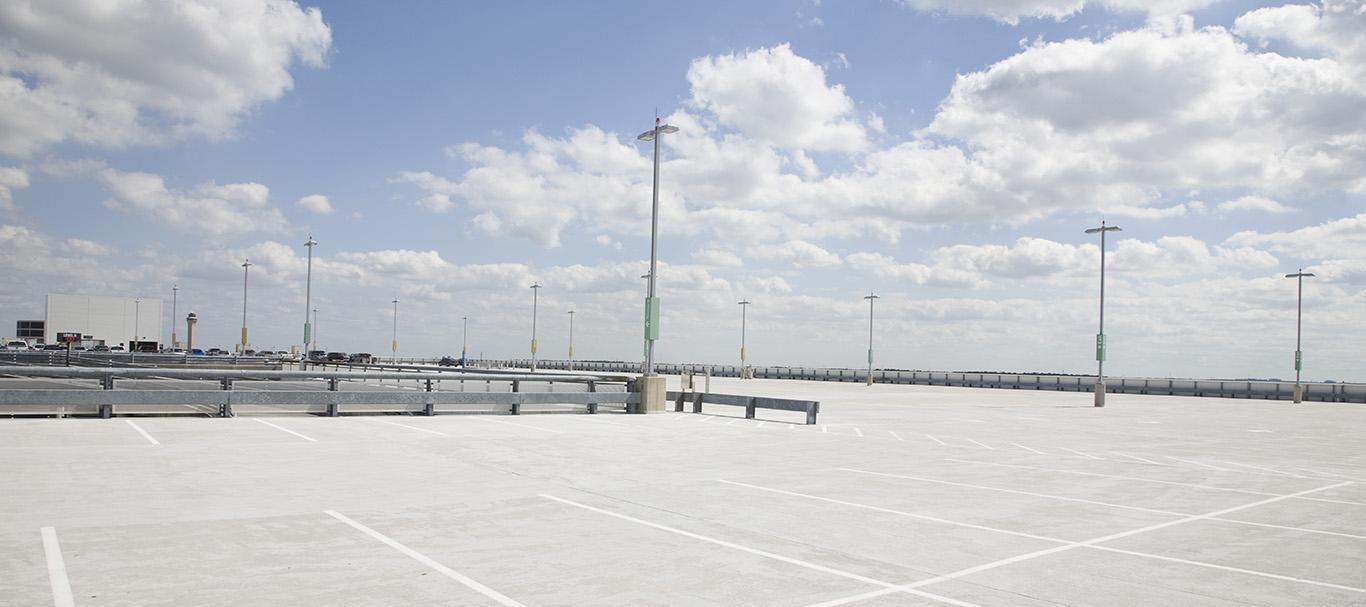 Parkplatz Flächenstandards
